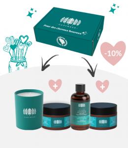 Box Saint Valentin Produits de soin
